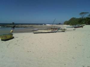 Pelada Beach.