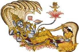 How will the life of Vishnu unfold through time and space?