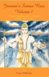 Literal Translation of Jaimini Sutras, Volume 1